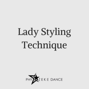 lady styling technique