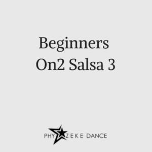 Beginners on2 salsa